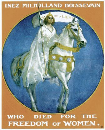 Poster from the Belmont-Paul Women's Equality National Monument