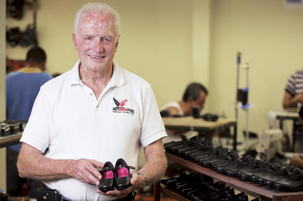 Picture of Sam Hawkins opened a shoe factory to give ex-cons a second chance
