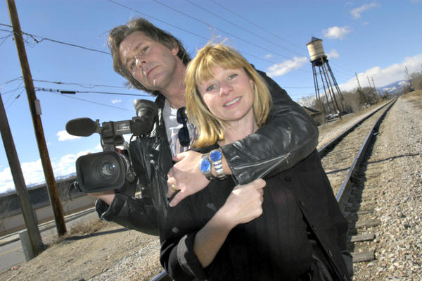 Picture of Ivan Suvanjieff and his wife, economist Dawn Engle, founded PeaceJam
