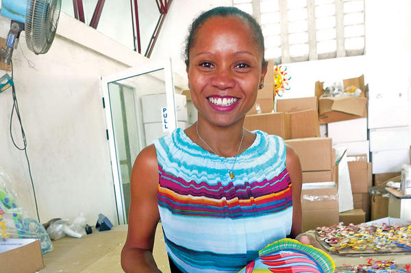 Picture of Magalie Dresse is helping Haiti move beyond handouts