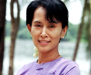 Picture of Aung San Suu Kyi