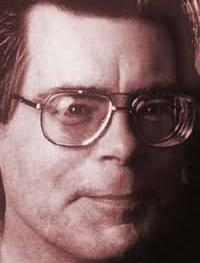 Photo from <br>http://www.todayinliterature.com<br>/biography/stephen.king.asp
