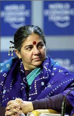 Vandana Shiva<br> www.thesouthasian.com