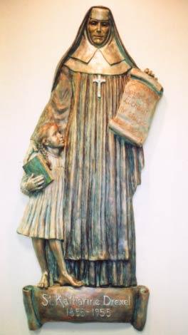 Monument Statue of St. Katharine Drexel
