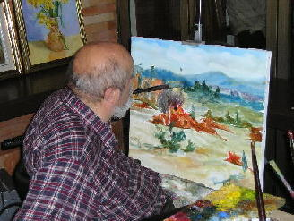 My uncle at work (web page of the community of Piran)