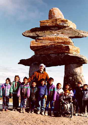 This is Bill in Iqaluit (inukshuk.ca)