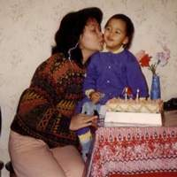 A Kiss At My 2nd Birthday (At Reims, France)