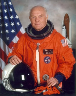 John Glenn <br>Photo from NASA</br>
