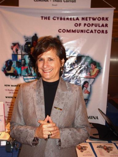Thais Corral, founder of CEMINA