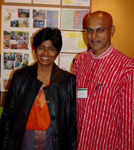 Picture of Ramani Sankaranarayanan and Geeta Vaidyanathan