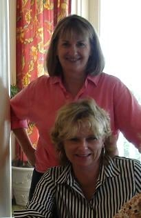 Michelle with friend Mary-Linda (personal photo)