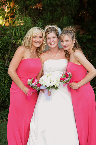 Mrs. Mignosa and her friends at her wedding (Mrs. Mignosa)