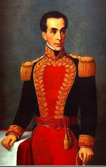 Picture of Simon Bolivar