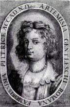 Picture of Artemisia Gentileschi