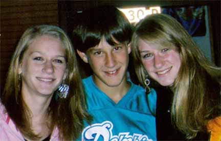 Amy, David and Allie Steinmetz<br>Photo courtesy of the Steinmetz family.