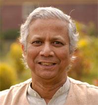 Muhammad Yunus (http://www.kbyutv.org/smallfortunes)