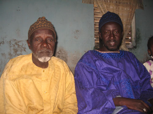 My father and me (from Cheikh Darou Seck)