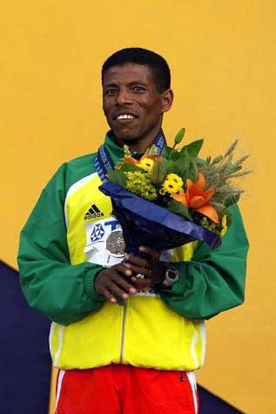 Picture of Haile Gebrselassie