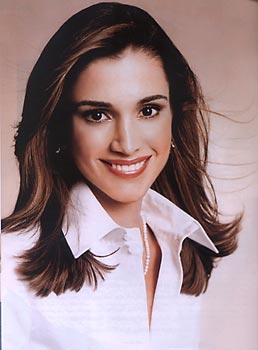 Picture of Queen Rania of Jordan