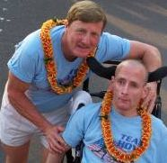 Dick and Rick Hoyt