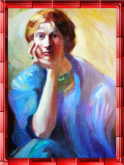 a portait of Gibran's mother's