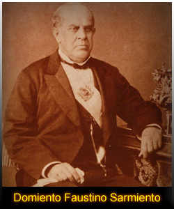 Picture of Domingo F. Sarmiento