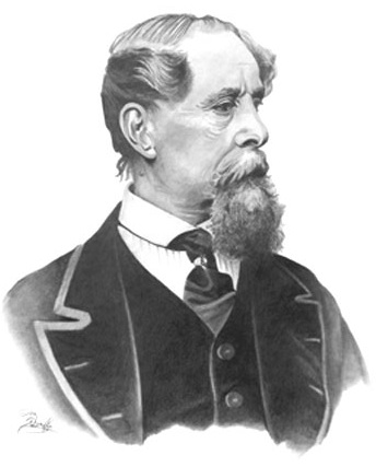 Picture of Charles Huffam Dickens
