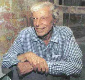 Photo of Thomas W. Dibblee <br>from the Thomas Dibblee Foundation Web Site