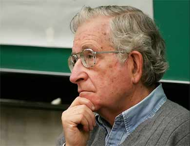 Picture of Noam Chomsky