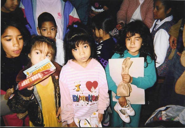 Here are some of the children that my hero - my father - has helped in Tijuana.