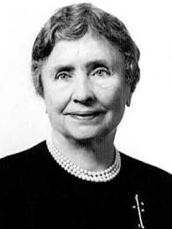 Picture of Helen Adams Keller