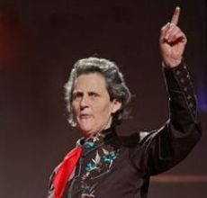 Temple Grandin speaking at TED (https://upload.wikimedia.org/wikipedia/commons/3/38/Temple_Grandin_at_TED.jpg