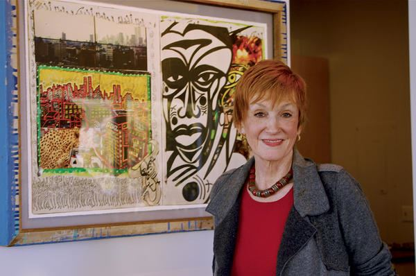 Kathy Eldon founded the Creative Visions