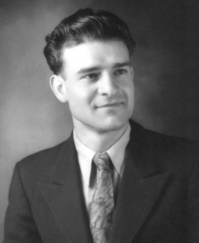 (Ted as a young man)