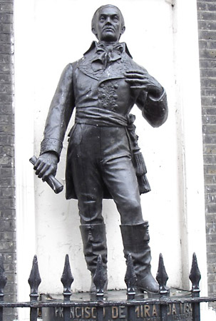 http://www.britannica.com/EBchecked/media/119784/Francisco-de-Miranda-statue-in-London ()