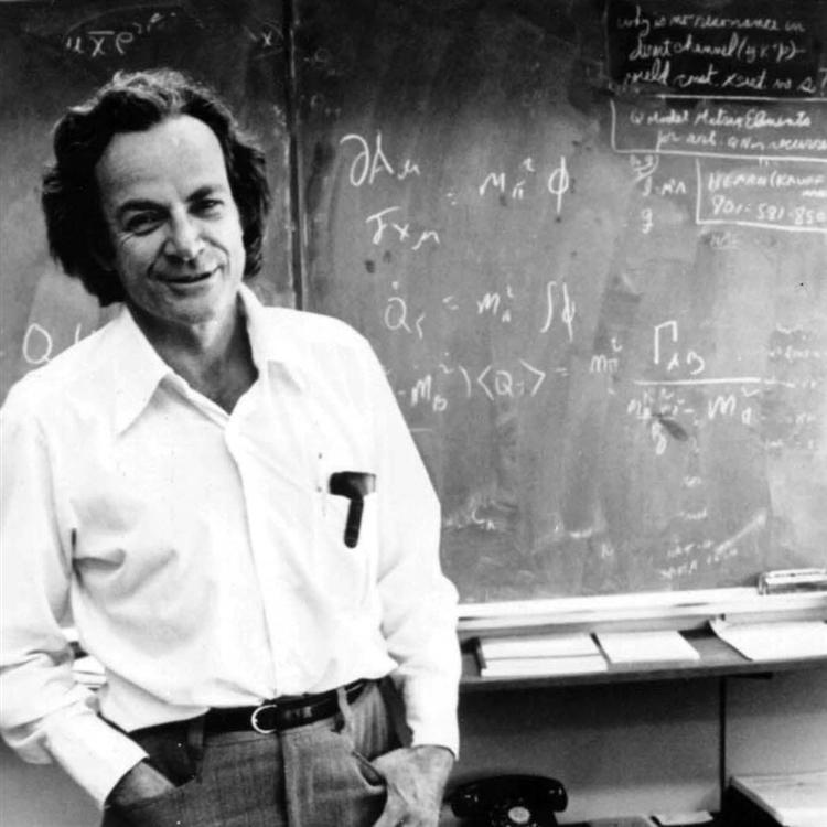 Picture of Richard P. Feynman