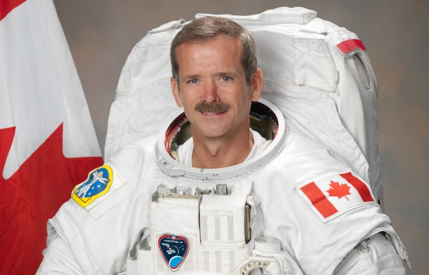 Picture of Commander Chris Hadfield