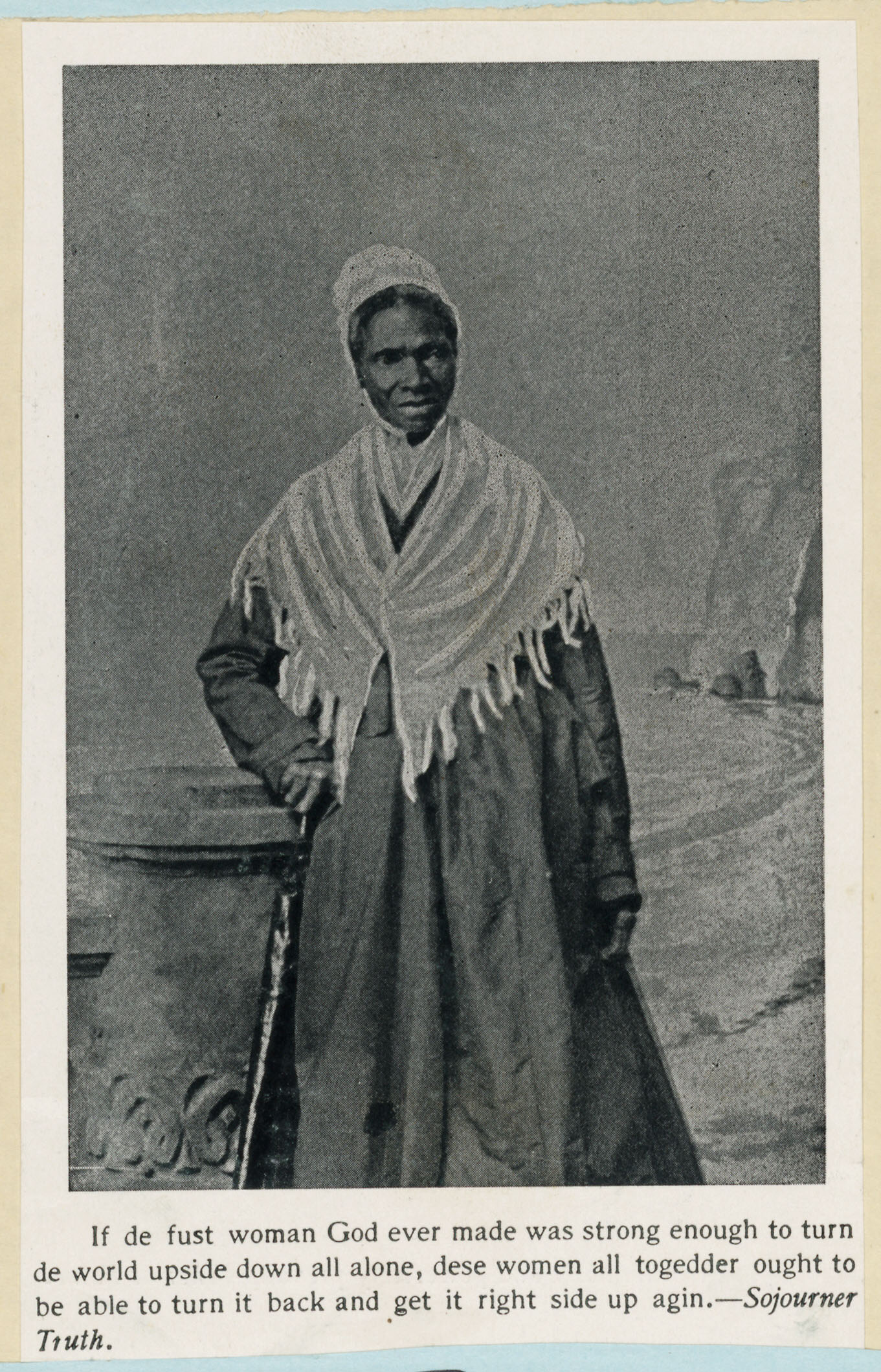 sojourner truth essays Sojourner truth essays in an ever changing world , the evolution of man has been the most drastic in terms of technological, environmental, and emotional advancement.