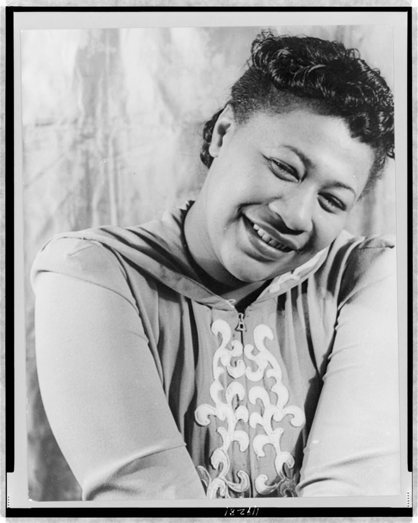 Picture of Ella Fitzgerald, photo by Carl Van Vechten
