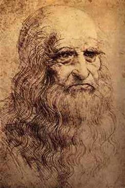 Picture of Self Portrait of Leonardo da Vinci