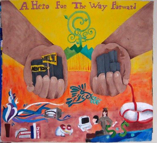 Women my hero for Art miles mural project