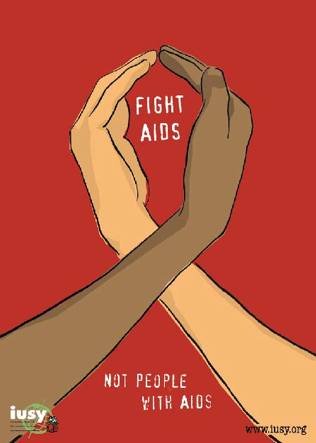 Picture of Fight Aids Not People With Aids