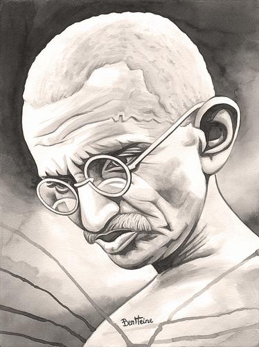 Picture of Mahatma Gandhi