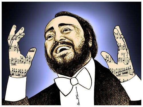 Picture of Luciano Pavarotti