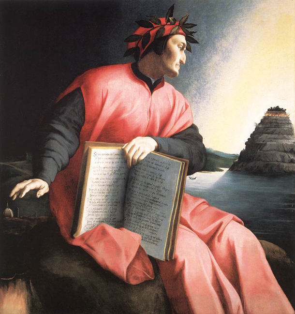 Picture of Allegorical Portrait of Dante