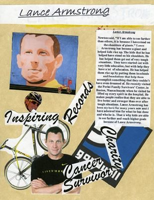 lance armstrong hero If we revel in the fall of heroes like lance armstrong, we no longer have to push ourselves beyond our self-limitations, zeno franco says.