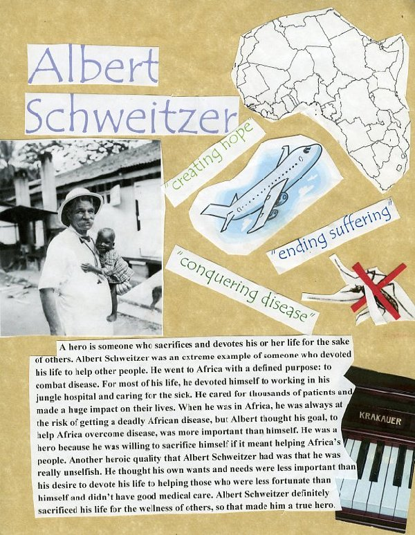 Picture of Albert Schweitzer, A True Hero