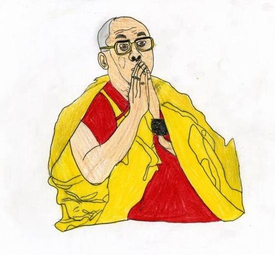 Picture of Dalai Lama