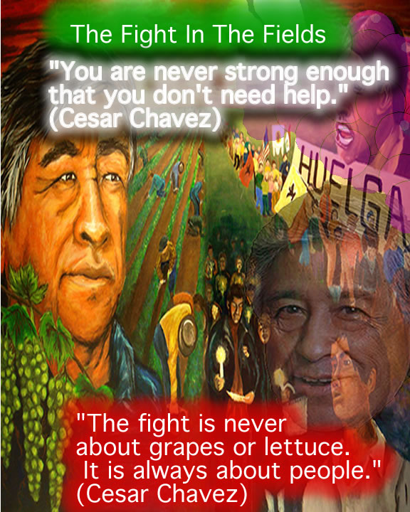 Picture of Cesar Chavez by Luis Aguileras