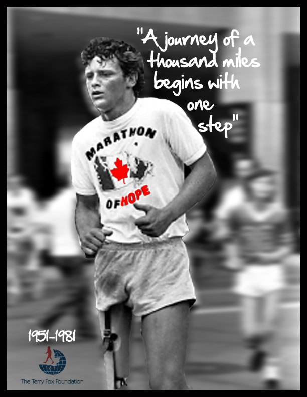 Picture of Terry Fox- Step of Hope